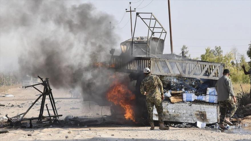 Ataque de Daesh deja 11 muertos entre civiles y militares iraquíes   HISPANTV