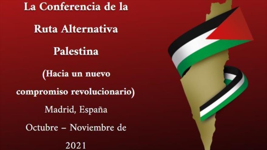 Diáspora Palestina celebrará 'La Conferencia de la Ruta Alternativa de Palestina' en 2021 en Madrid, capital de España.