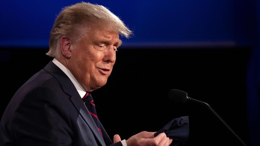 El presidente de EE.UU., Donald Trump, ofrece un discurso en Ohio, 30 de septiembre de 2020. (Foto: AFP)