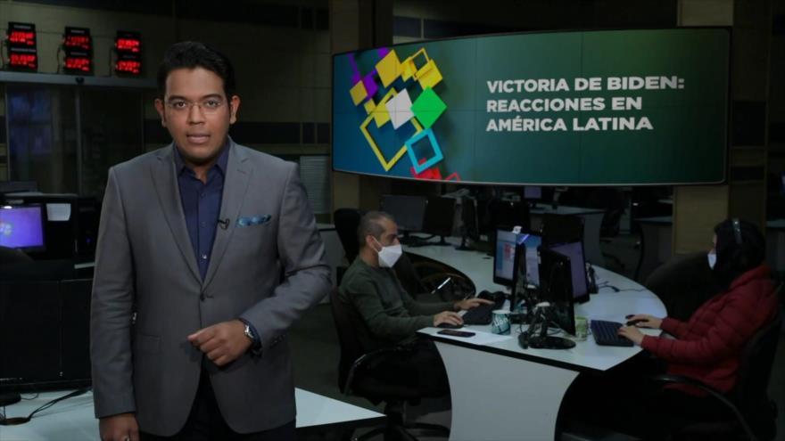 Buen día América Latina: América Latina frente a Biden