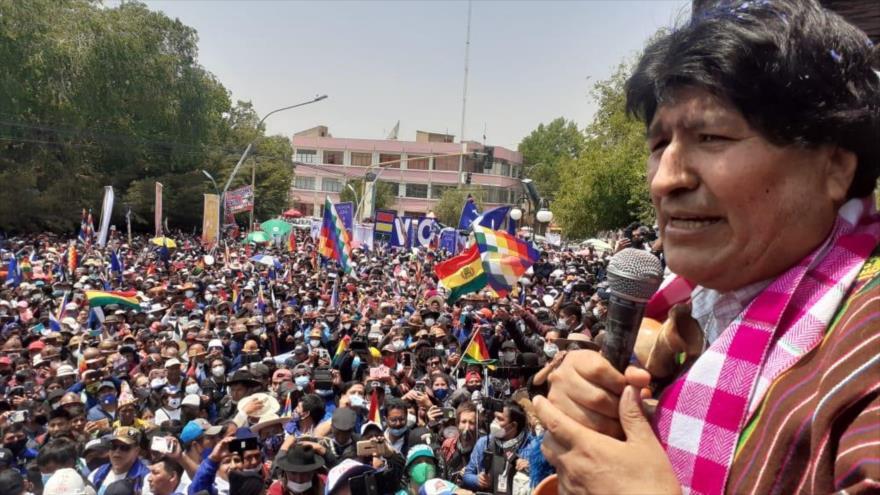 Morales: Hemos recuperado la democracia en Bolivia sin violencia | HISPANTV