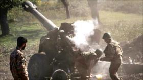 """Armenia y Azerbaiyán alcanzan un acuerdo de """"alto el fuego total"""""""