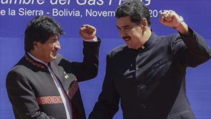 Maduro celebra el fin de la dictadura en Bolivia y el retorno de Evo