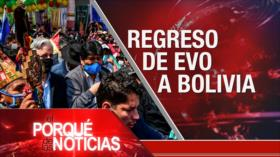 El Porqué de las Noticias: Postura de Irán. Conflicto sirio. Retorno de Morales a Bolivia