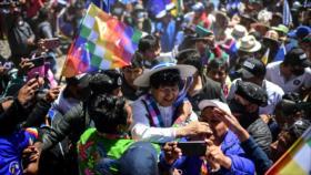 Evo Morales: La propuesta de EE.UU. de eliminar al MAS fracasó