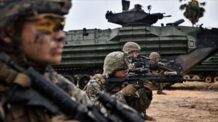 Marines de EEUU llegan para entrenar a tropas de Taiwán