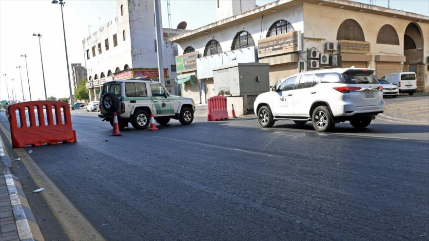 Al menos cuatro heridos tras una explosión en un acto en Arabia Saudí