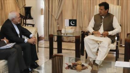Zarif en Paquistán: Irán prioriza a vecinos en política exterior