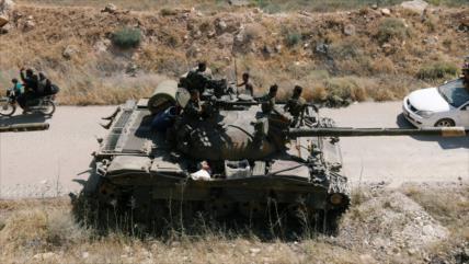 Ejército sirio lanza nueva operación antiterrorista en el sur