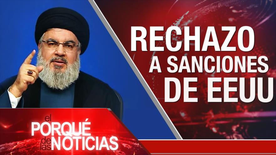 El Porqué de las Noticias: Postura de Irán hacia EEUU. Discurso de Nasralá. Regreso de Morales a Bolivia