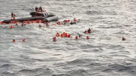 Más de 70 migrantes se ahogan frente a costas de Libia