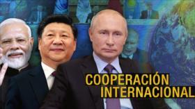 Detrás de la Razón: En la Organización de Cooperación de Shanghái, Rohani pide cooperación internacional