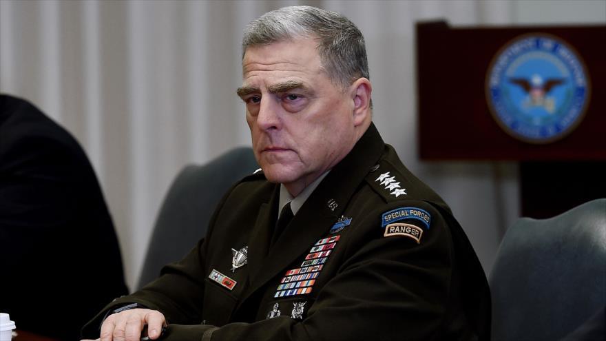 El presidente del Estado Mayor Conjunto de Estados Unidos, el general Mark Milley.