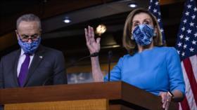 "Pelosi a republicanos: ""Detengan el circo"" para reconocer a Biden"