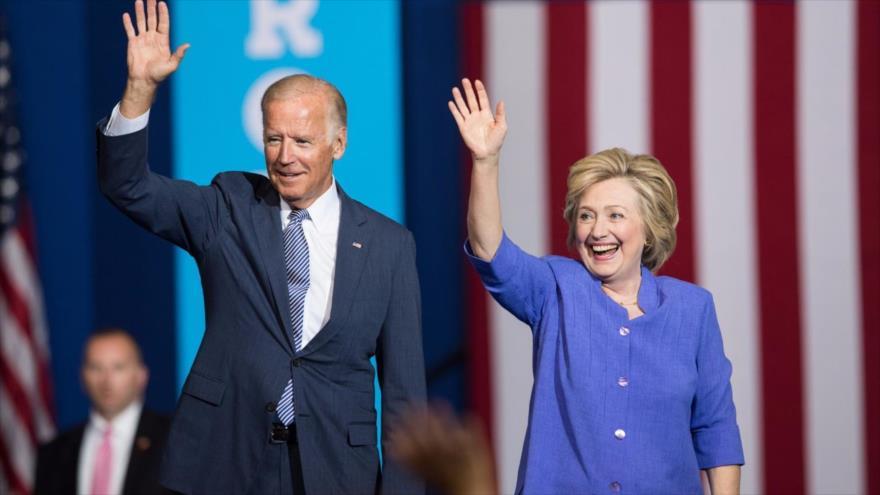 Joe Biden hizo campaña durante la candidatura de Hillary Clinton a la Presidencia en 2016.