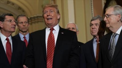 Senadores republicanos señalan a Biden como ganador de los comicios
