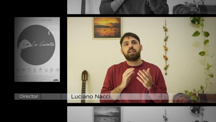 """Blanco: Los cortometrajes """"La Otra Mirada"""" y """"La Cuenta"""" dirigidos por Luciano Nacci, y el cortometraje iraní """"Cliente"""""""
