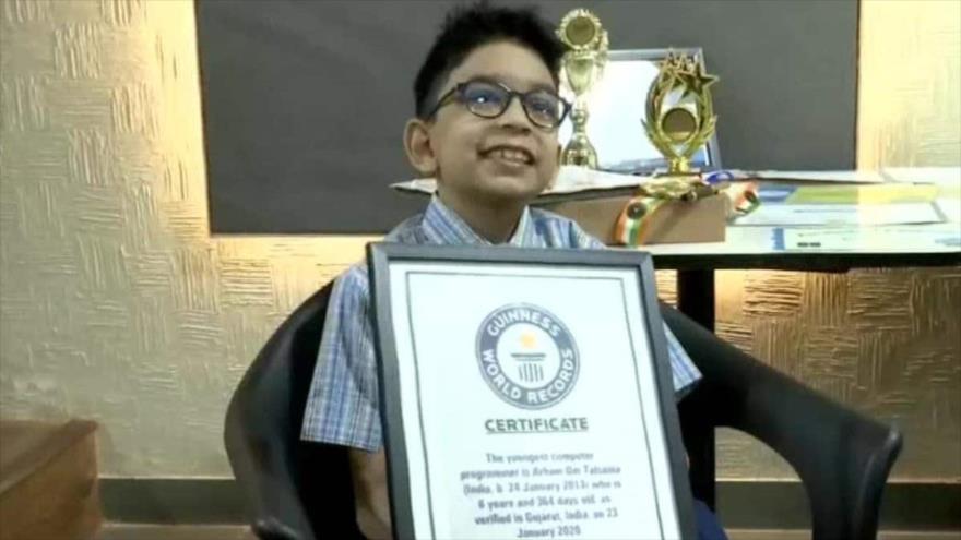 Arham Talsania, niño indio de 6 años, aprobó el examen de certificación de Microsoft obteniendo unos sorprendentes 900 puntos de 1000.
