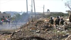 Israel reprime a manifestantes palestinos que condenan ocupación