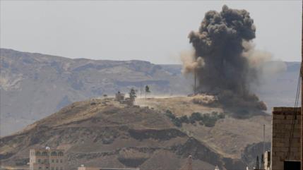 Cazas saudíes lanzan, en 3 meses, 1500 cohetes contra Marib, Yemen