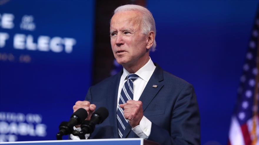 El presidente electo de EE.UU., Joe Biden, en Wilmington, Delaware, 10 de noviembre de 2020. (Foto: AFP)