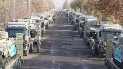 Irán se defiende con tropas desplegadas cerca de Nagorno-Karabaj