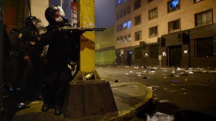 """Amnistía y CIDH repudian """"violencia policial"""" en protestas en Perú"""