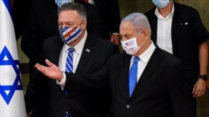 Palestina condena planes de Pompeo para visitar una colonia israelí