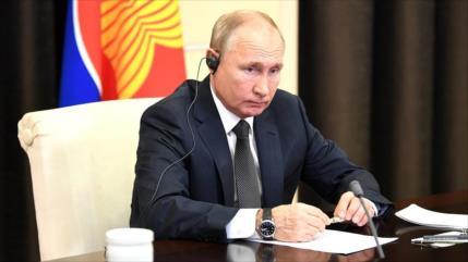 Putin: Salida de EEUU de tratado de misiles amenaza Asia-Pacífico