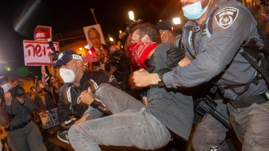 Al menos 18 detenidos en la nueva protesta contra Netanyahu | HISPANTV