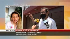 'Gobierno peruano usa la fuerza para impedir la expresión popular'