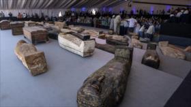 Fotos: Egipto presenta gran tesoro de 100 sarcófagos de hace 2000 años