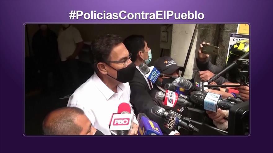 Etiquetaje: Crisis en Perú; Vacancia contra Vizcarra y represión policial