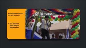 PoliMedios: Evo regresa a Bolivia, ¿la paz también?