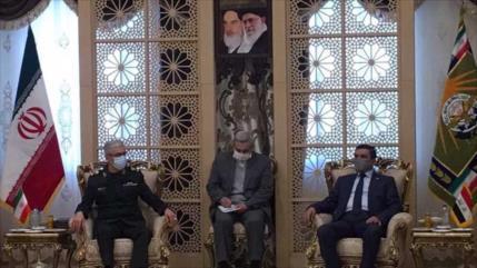 Irán e Irak abogan por fortalecer la defensa ante complots de EEUU