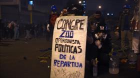 Jefe del Congreso de Perú pide renuncia de Merino tras protestas