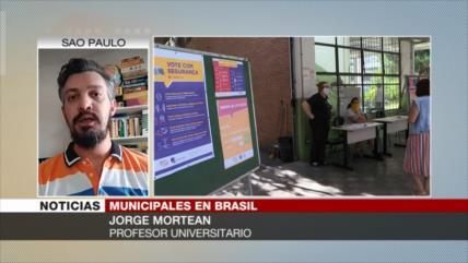 Mortean: Brasileños expresan descontento a Bolsonaro en elecciones