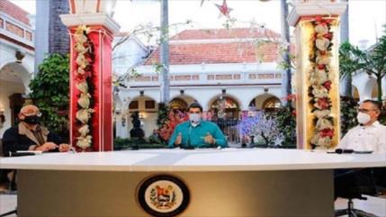 Maduro critica silencio de Grupo de Lima ante crisis en Perú