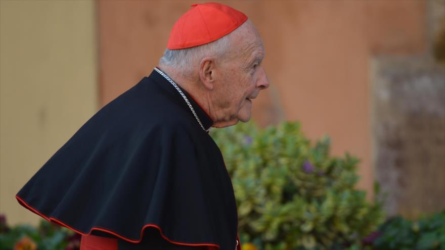 El excardenal de Washington Theodore McCarrick en el Vaticano. (Foto: AFP)