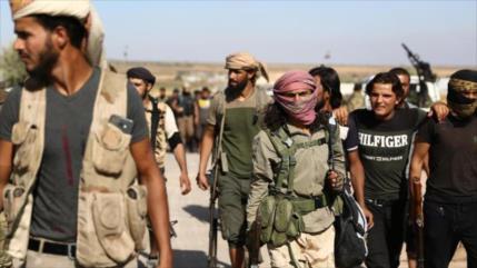 Terroristas proturcos agreden y roban a civiles sirios en Alepo
