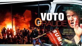 Detrás de la Razón: Polarización estadounidense en marchas pro fraude y pro victoria demócrata