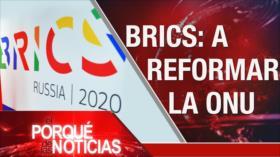 El Porqué de las Noticias: Contra hostilidades de EEUU. Venezuela rumbo a elecciones. Cumbre de los países BRICS