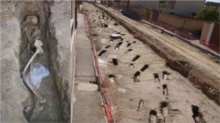 Hallan una necrópolis islámica con 400 tumbas en noreste de España