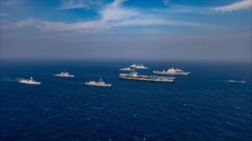 EEUU, India y Japón muestran músculo a China en el mar de Omán
