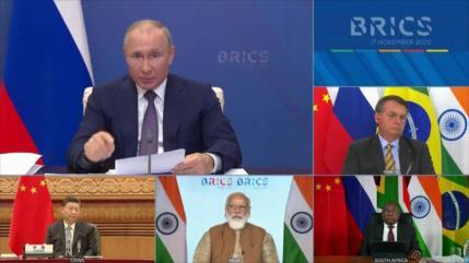 El grupo BRICS se reúne por primera vez tras la pandemia