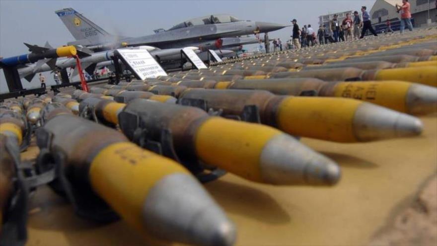 Bombas y municiones aéreas de fabricación estadounidense.
