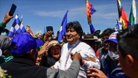Morales asume presidencia de MAS de cara a elecciones regionales