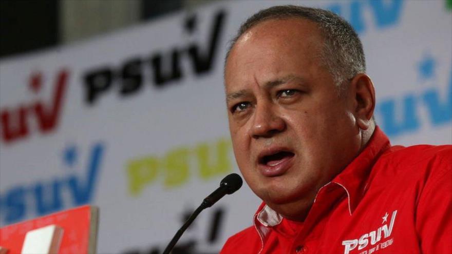 El primer vicepresidente del Partido Socialista Unido de Venezuela (PSUV), Diosdado Cabello.