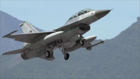 Taiwán deja en tierra sus cazas F-16 en plena tensión con China