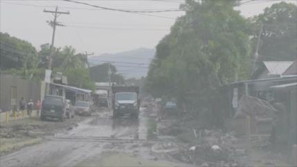 Iota deja destrucción a su paso por Honduras